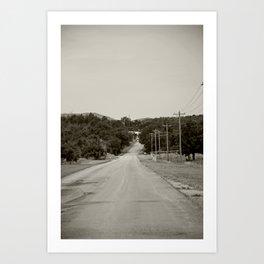 Meers, Oklahoma Art Print