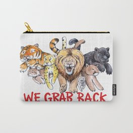 We Grab Back Carry-All Pouch