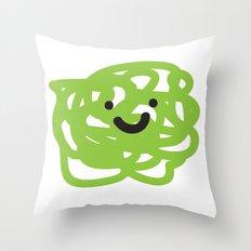 Garabato 3 Throw Pillow