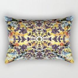 Neurotic Tectonics Rectangular Pillow