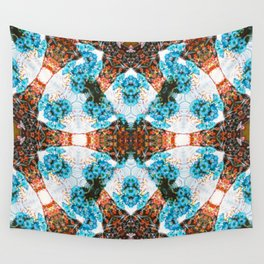 Les Fleurs Photographic Pattern Wall Tapestry
