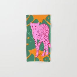 A quick cheetah Hand & Bath Towel