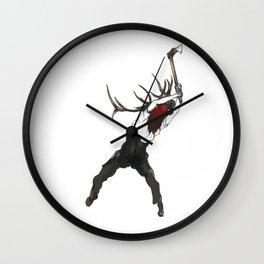 La coupe des Bois Wall Clock