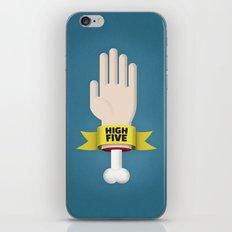 Spooky High Five iPhone & iPod Skin