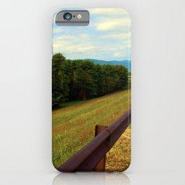 Ashokan Reservoir iPhone Case