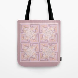 Peace is Soft Tiled Tote Bag