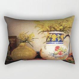 Last Of The Wattle Rectangular Pillow