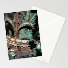 Bronze Lamp Post Stationery Cards
