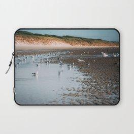 Low tide beach Laptop Sleeve