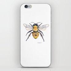 Watercolor Bee iPhone & iPod Skin