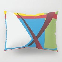 X Marks the Spot Pillow Sham