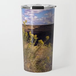 Partly Cloudy Travel Mug