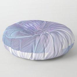 elegant flames on texture Floor Pillow