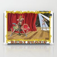 burlesque iPad Cases featuring BURLESQUE by Alessandro Ardy