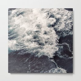 Rush of Waves Metal Print