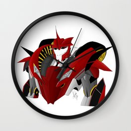 DR. Knockout in the house Wall Clock
