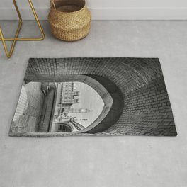 Big ben and bridge Rug
