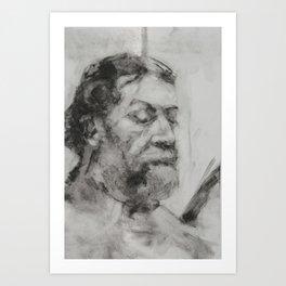 Study of Dan Art Print