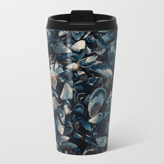 sea shells Metal Travel Mug