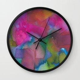 Retinal Ghost #2 Wall Clock