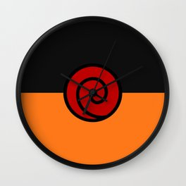 NARUTO SUIT Wall Clock