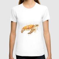 sea turtle T-shirts featuring Sea Turtle  by Meg Ashford