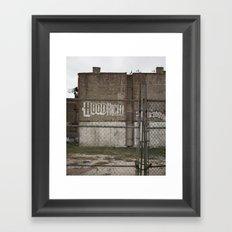 Future Home of the Brooklyn Nets Framed Art Print