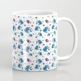 Pattern Fish Blue Rapport Coffee Mug