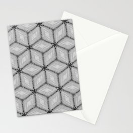 GRAY TILES Stationery Cards