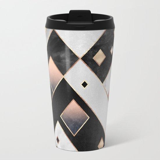 Diamonds 1 Metal Travel Mug