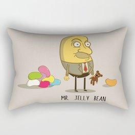 Mr. Jelly Bean Rectangular Pillow