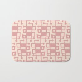 Mid Century Modern Abstract 213 Dusty Rose 2 Bath Mat