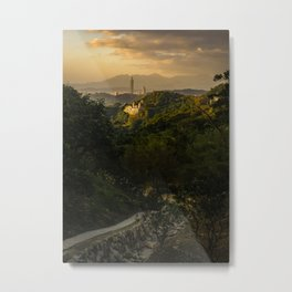 View from Maokong Village Metal Print