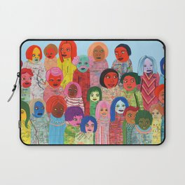 All the People Laptop Sleeve