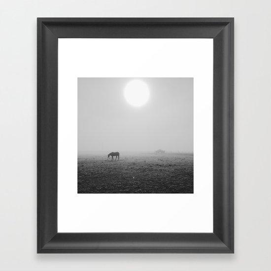 Penrose Fog Framed Art Print