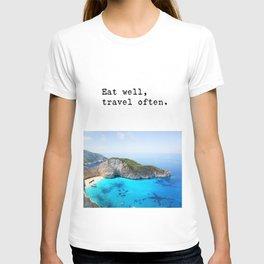 Eat well Island T-shirt
