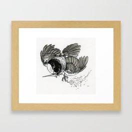 The Chickadee Clan Framed Art Print