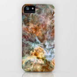 Carina Nebula, Star Birth in the Extreme - High Quality Image iPhone Case
