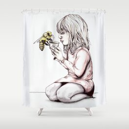 More Honey? Shower Curtain