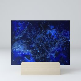 Celestial Blues Mini Art Print