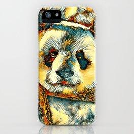 AnimalArt_Panda_20180101_by_JAMColors iPhone Case