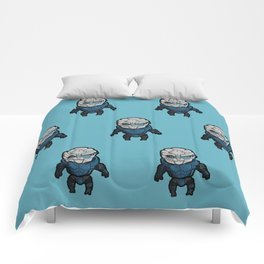 Garrus: In the middle of some calibrations Comforters