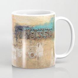 10x10 Series: 748 grunge Coffee Mug