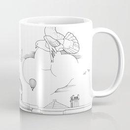 Pigeons Perspective Coffee Mug