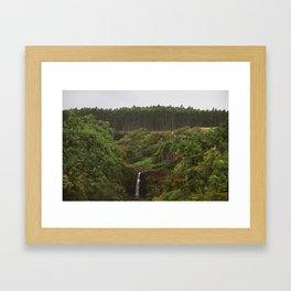 Umauma Falls #1. Framed Art Print