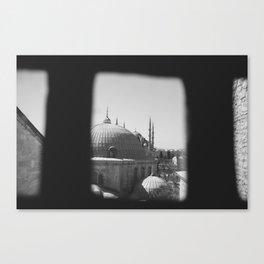 View from Hagai Sophia Canvas Print