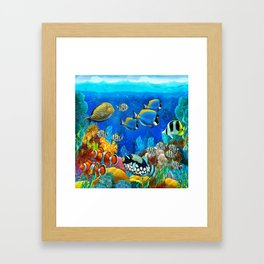 Heart of the Atlantic Framed Art Print
