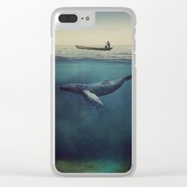 Old Sea and the Man Clear iPhone Case