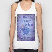 motivation Tank Tops featuring Motivation by LebensART