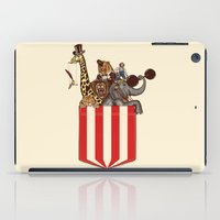 pocket iPad Cases featuring Pocket Circus by Sachpica